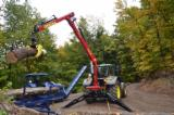 Forest & Harvesting Equipment - Tajfun Hydraulic tractor crane DOT 50