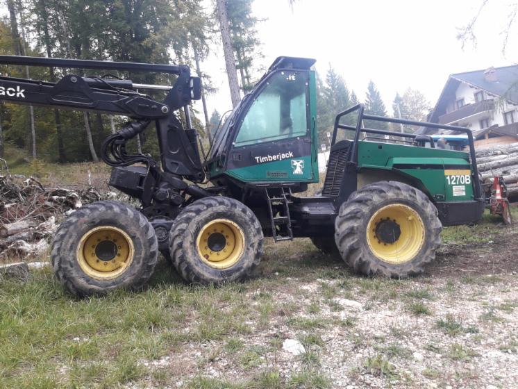 Used-Timberjack-1270B-1999-Harvester