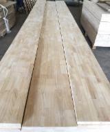 Massivholzplatten Vietnam - 1 Schicht Massivholzplatten, Kautschukbaum