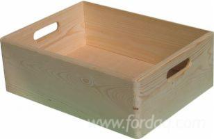 Universal Household Pine Crates FSC