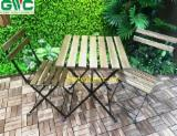 Garden Furniture for sale. Wholesale Garden Furniture exporters - Acacia Garden Set 3 Pieces Table and Chairs