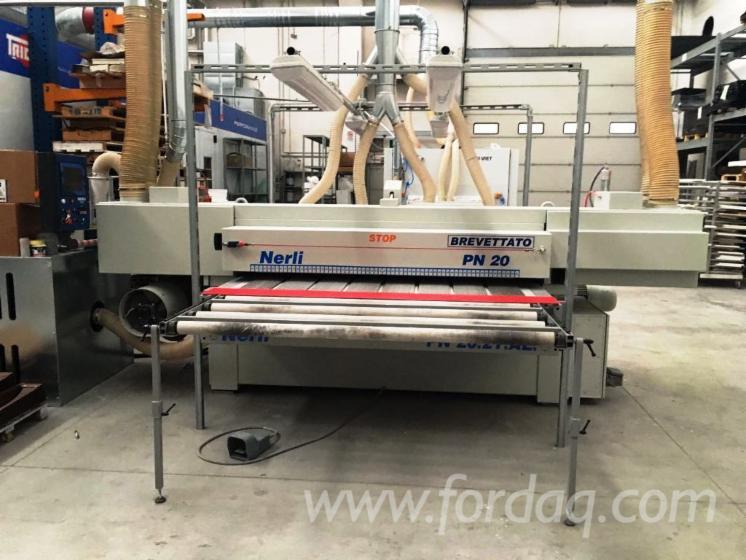 Gebraucht-NERLI-PN-20-2016-Schleifmaschinen-Mit-Schleifband-Zu-Verkaufen