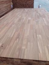 Solid Wood Panels - Acacia / Rubber / Sapele Finger Joint Panels