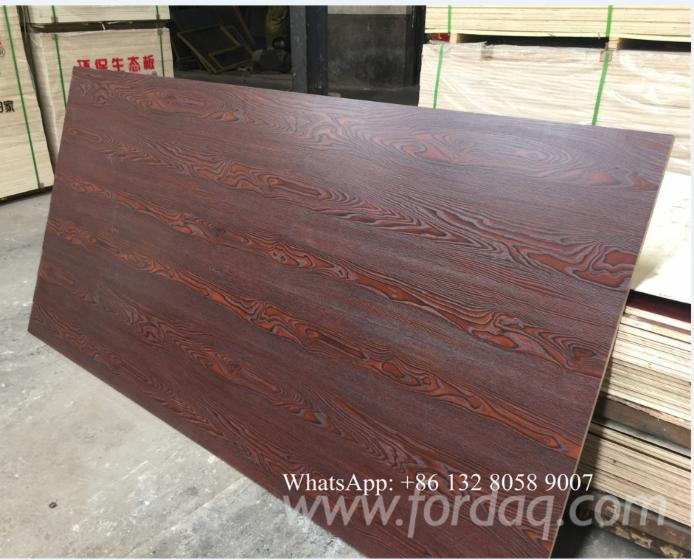 Plywood Laminated Pine ~ Melamine laminated pine plywood