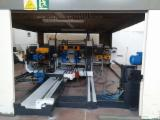 Spain Woodworking Machinery - Used 2000 IDM Double Tenoner with Cabin