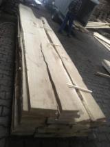 Hardwood  Unedged Timber - Flitches - Boules FSC - Oak Boules KD 50 mm