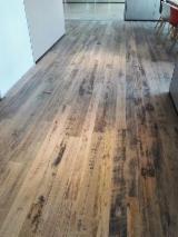 Solid Wood Flooring China - Meranti Parquet on Edge