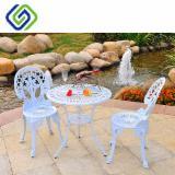 Contemporary Garden Furniture - Modern Aluminum Garden Bistro Set