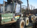 森林和收成设备 - Forwarder Timberjack Minibruunett 678 旧 1992 德国