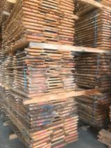 Hardwood  Unedged Timber - Flitches - Boules For Sale - PEFC/FFC Cherry Loose Timber 27-80 mm