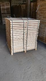 Laubschnittholz, Besäumtes Holz, Hobelware  Zu Verkaufen Litauen - Parkettfriese, Esche , Esche