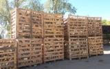 Дрова - Пеллеты - Щепа - Пыль - Отходы Для Продажи - Дрова колотые из лиственных пород древесины