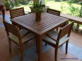 Garden Furniture - White Oak Garden Set