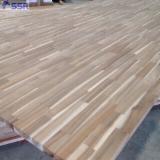 Ahşap Kaplama ve Paneller - 1 Ply Solid Wood Panel, Akasya