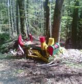 Macchine E Mezzi Forestali in Vendita - Vendo Testata D'Abbattimento Entaster APOS Usato 2000 Slovacchia