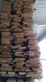 Hardwood  Unedged Timber - Flitches - Boules For Sale - KD Beech Boules 50 mm