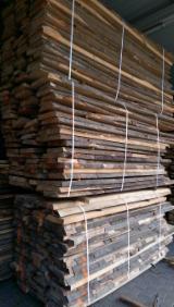 Drewno Liściaste  Drewno Okrągłe – Tarcica Blokowa – Tarcica Nieobrzynana Na Sprzedaż - TARCICA NIEOBRZYNANA BUKOWA