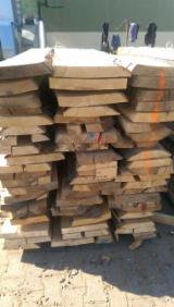 Drewno Liściaste  Drewno Okrągłe – Tarcica Blokowa – Tarcica Nieobrzynana Na Sprzedaż - BUK - TARCICA NIEOBRZYNANA