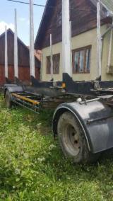 Oprema Za Šumu I Žetvu Prikolica S Pokretnim Podom - Prikolica S Pokretnim Podom JYKI Polovna Rumunija