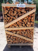 Find best timber supplies on Fordaq - Firewood from Alder, Oak, Hornbeam