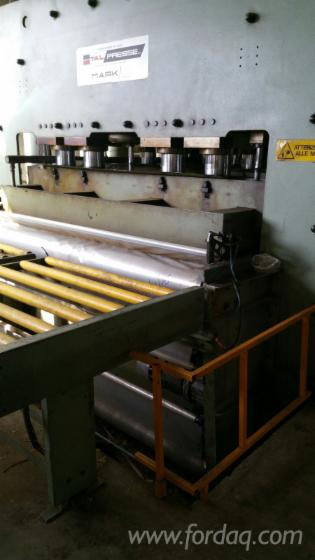 Used-1990-Italpresse-Complete-Pressing-Line-With-Loading-And-Unloading