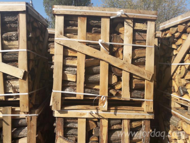 Gewerblicher Handel Eiche Brennholz Gespalten Polen