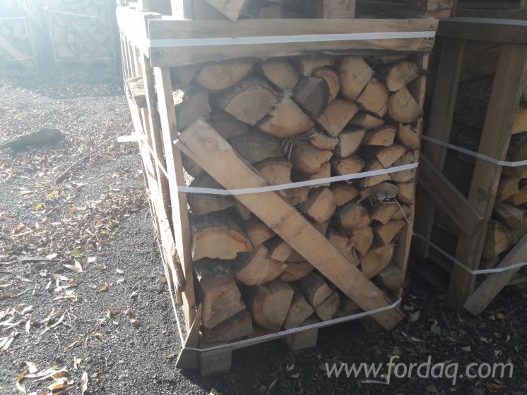 Eiche Brennholz Gespalten