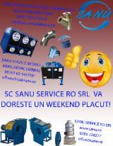 Macchine Lavorazione Legno in Vendita - Vendo Aspiratori SANU SRL Nuovo Romania