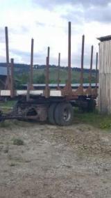 Remorca - Vagon forestier sau remorca busteni.