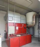 带实木(原木)炉的锅炉系统 Uniconfort 旧 意大利