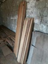 Cylindrical Trimmed Round Wood - 3 cm Oak Stakes Romania