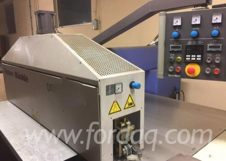 Used-Fischer-Und-R%C3%BCckle-Omnimaster-2006-Veneer-Production-Machines---Veneer-Processing---Other-For