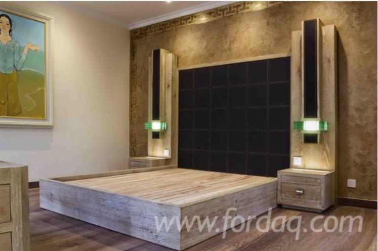 Vendo-Arredamento-Camera-Da-Letto-Design-Legno-Tropicale-Africano
