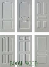 Wood Components, Mouldings, Doors & Windows, Houses Asia - HDF White Primer Door Skin
