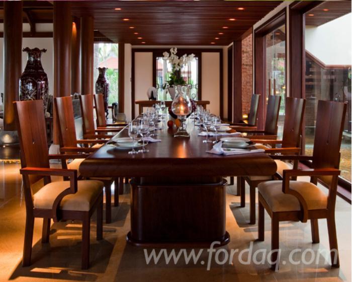 Vendo-Set-Per-Stanza-Ufficio-Design-Legno-Tropicale-Africano
