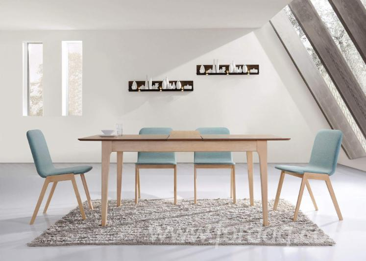 Rubberwood Dining Room Furniture Set