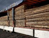 Yumuşak Ahşap  Kesilmeyen Kereste Satılık - Kenarları Biçilmemiş Kereste – Flitch, Ladin  - Whitewood