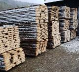 Softwood  Unedged Timber - Flitches - Boules For Sale - Spruce Loose Timber 53 mm
