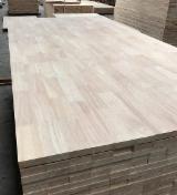 Find best timber supplies on Fordaq - Duy Tan Plywood - Rubberwood FJ Solid Wood Panel, 12-22 mm
