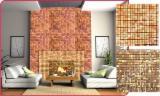 Wholesale Timber Cladding - Weatherboards, Wood Wall Panels And Profiles - Beech / Oak / Hornbeam Wall Mosaic