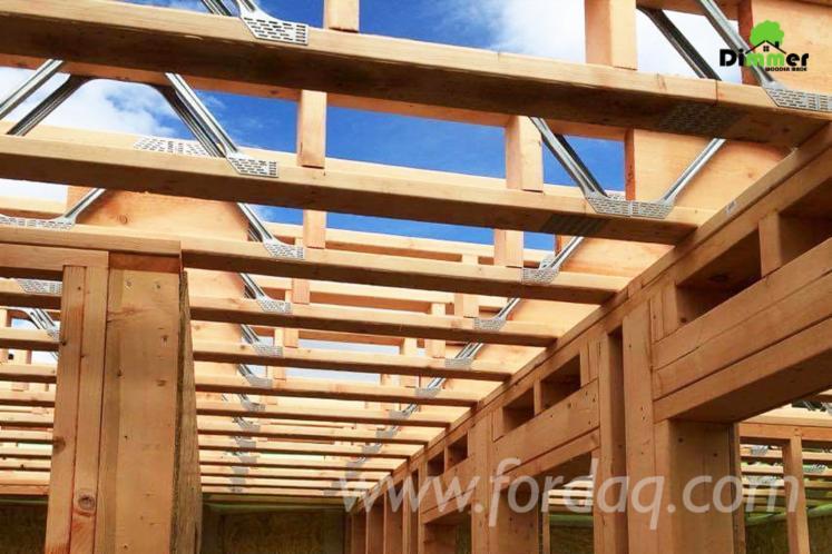 Fir---Larch---Spruce-Precut-Roof