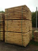 Buy Or Sell Hardwood Lumber Railway Sleepers - PEFC Rustique Oak Railway Sleepers