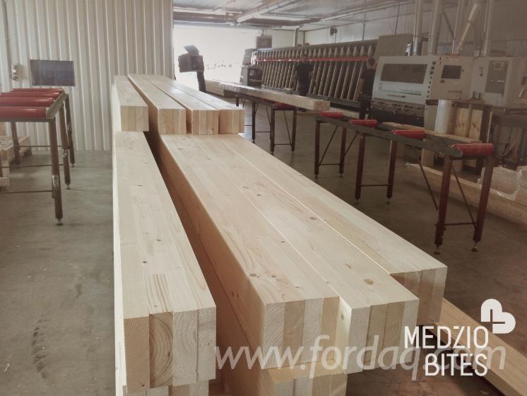 vend lamell coll poutres droites pin bois rouge epic a bois blancs lithuanie. Black Bedroom Furniture Sets. Home Design Ideas