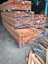 Drewno Liściaste Tarcica – Drewno Budowlane – Tarcica Strugana Na Sprzedaż - Tarcica Obrzynana, Bangkirai , Chengal, Merbau