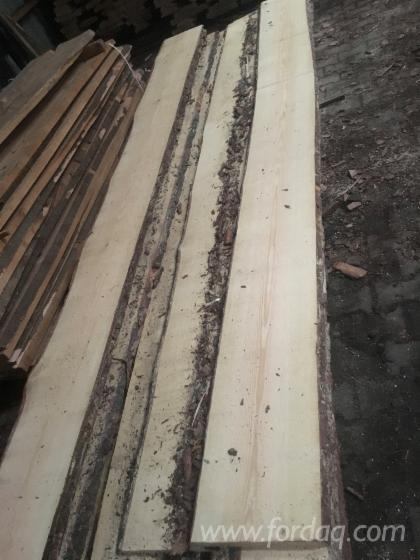 Pine-Unedged-Lumber-with-One-Side-Clear--KD