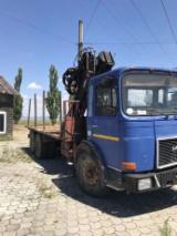 null - Kamion Za Prevoz Dužih Stabala Man Polovna 1987 Rumunija
