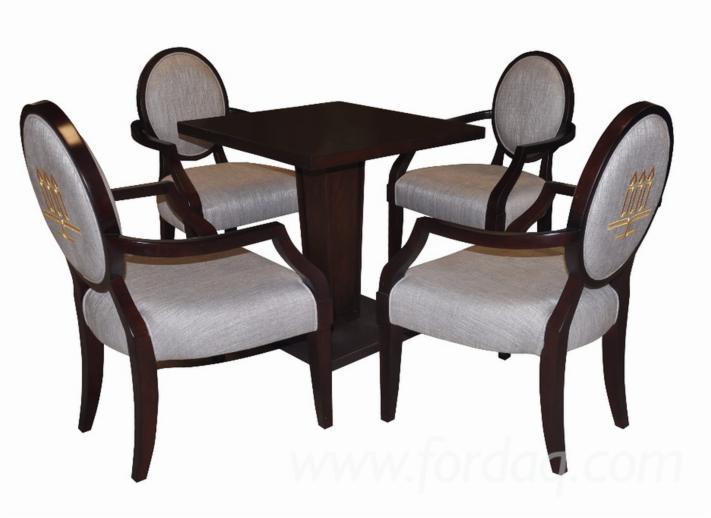 Vend-Ensemble-Table-Et-Chaises-Pour-Salle-%C3%80-Manger-Design-Feuillus-Europ%C3%A9ens