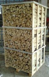 Drewno Opałowe - Odpady Drzewne - Brzoza, Klon, Dąb Drewno Kominkowe/Kłody Łupane Ukraina