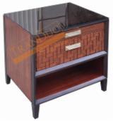 Meubles De Chambre À Coucher À Vendre - Vend Tables De Chevet Design Feuillus Européens Acacia, Bouleau