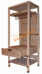 Bedroom Furniture For Sale - MDF Oak Closet for Hotel Bedroom
